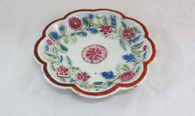 Covilhete porcelana chinesa Companhia Indias; Período Qianlong 16cm