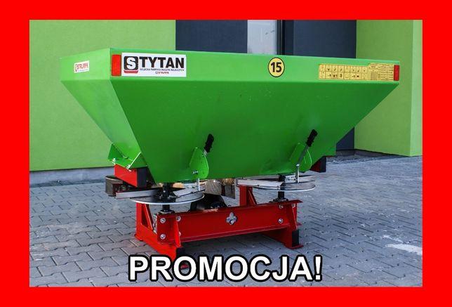 PRODUCENT Rozsiewacz nawozu STRUMYK 600l 800l HYDRAULIKA plandeka 1000
