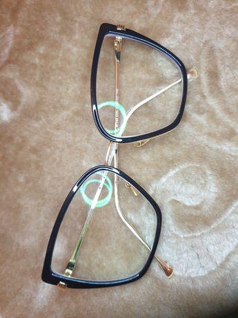 Oprawki okulary duże  zlote czarne nowe