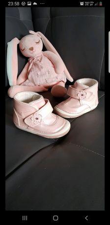 Buty buciki idealne na jesień rozmiar 18
