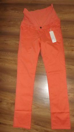 ESPRIT-spodnie ciążowe łososiowe 36