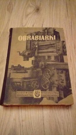 "książka ""Obrabiarki"""