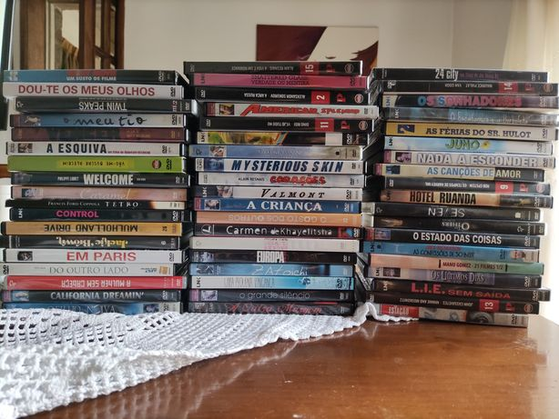 54 DVD's filmes de culto