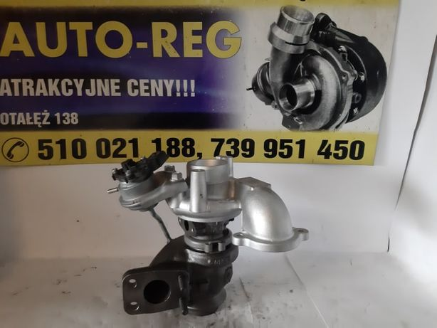 Turbina TurboSprężarka Citroen Ford Peugeot Silnik: 1.6 HDi Wysyłka