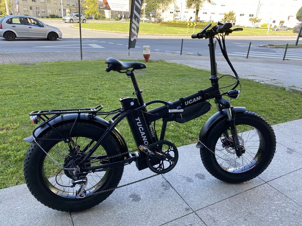 Bicicleta elétrica Ebike Tucano