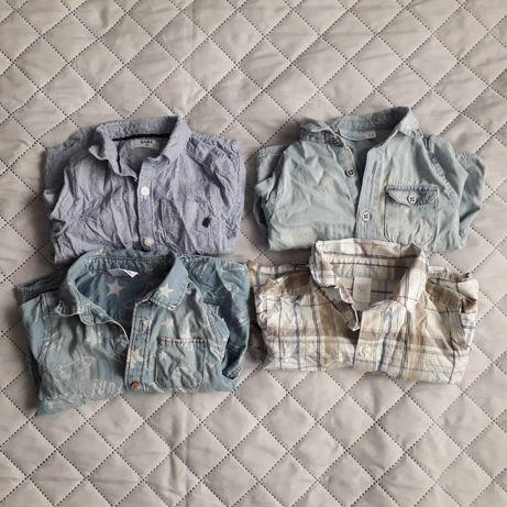 Koszule niemowlęce 74 80 eleganckie