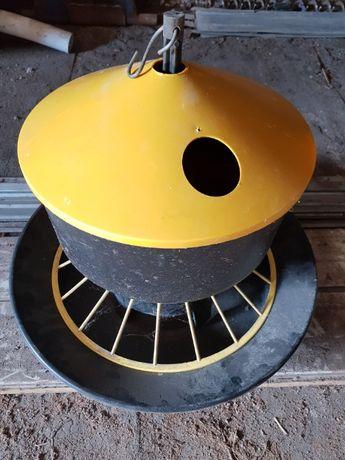 Elementy miski KARMIDŁA karmnik dla drobiu kur indyk gęś duże 20 22kg