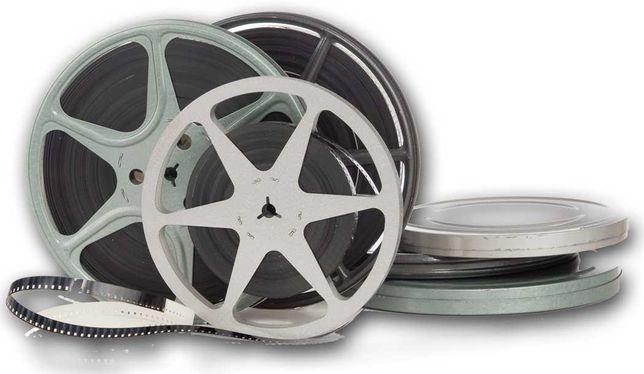 Converto filmes antigos Super 8 / 8 mm para formato digital