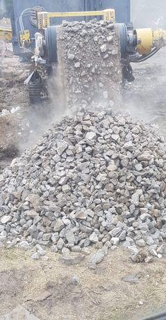 Gruz kruszony przekrusz betonowy ceglany