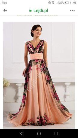 Piękna sukienka raz ubrana