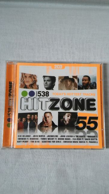 2 płyty CD Hit Zone