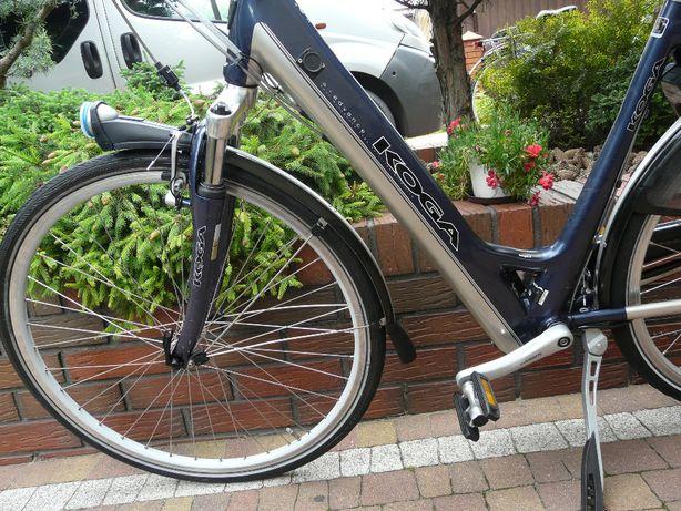 Rower elektryczny KOGA e-advance - ciekawa ładna