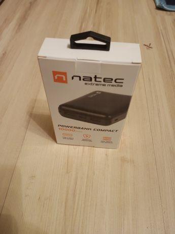 Nowy Powerbank 10000mAh USB C i micro USB oraz 2x USB na prezent