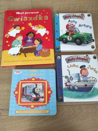 Zestaw 4 książek dla dzieci