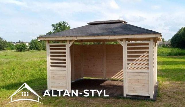 Altany, altanka, wiaty, altanka ogrodowa 3x4m WIKTORIA PRODUCENT