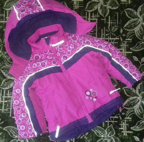 Куртки девочка и мальчик