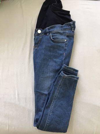 Spodnie jeans ciążowe 34 xs asos