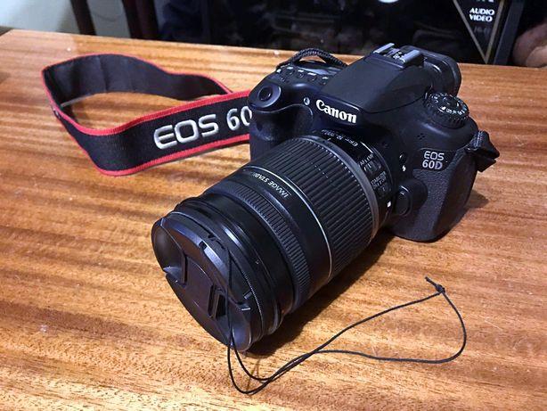 Фотоаппарат Canon 60D с линзой (EFS 18-200 IS)