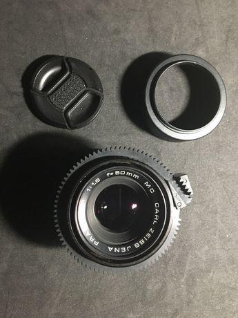 Objetiva Carl Zeiss Jena MC 50mm f1.8