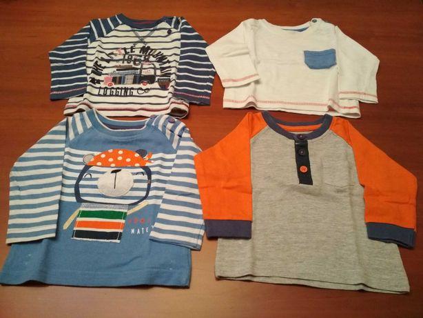 Sweatshirt e polos de menino 3/6 meses