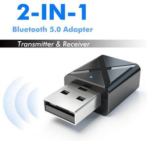 Адаптер Bluetooth 5.0 аудио приемник-передатчик KN320 2в1 блютуз