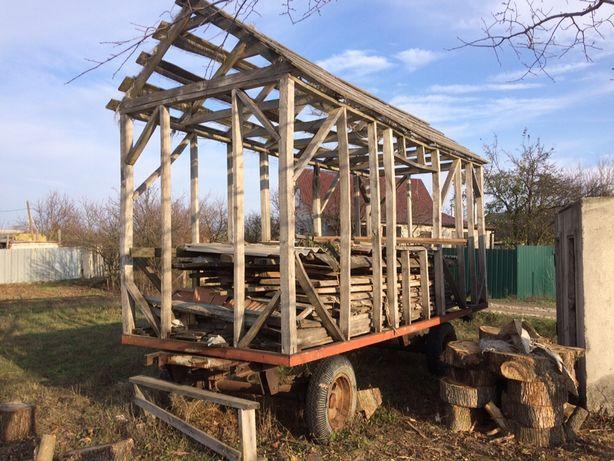 Прицеп платформа для пасика вагончик кунг