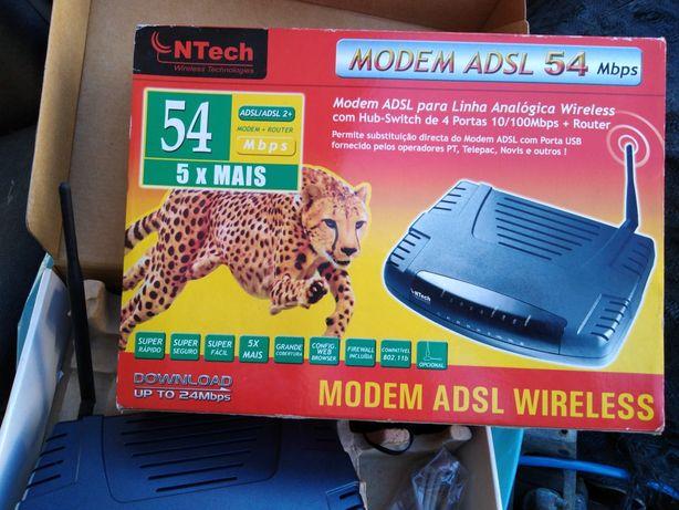 Routeres novos nunca usados
