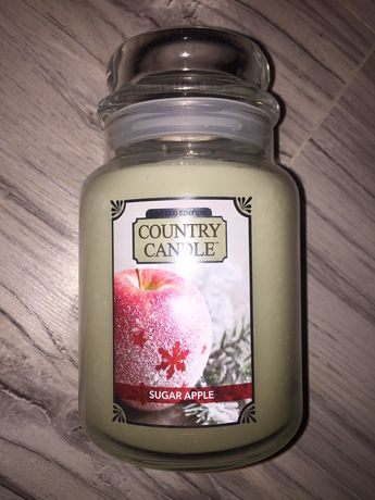 Świeca Country Candle Sugar Apple
