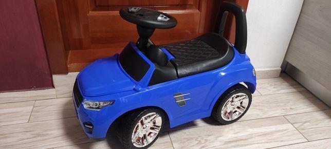 Машина толокар  синяя