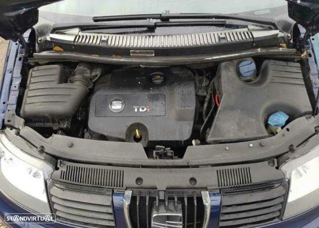 Motor Seat Alhambra Cordoba Ibiza Toledo Leon 1.9Tdi 130cv ASZ Caixa de Velocidades Arranque