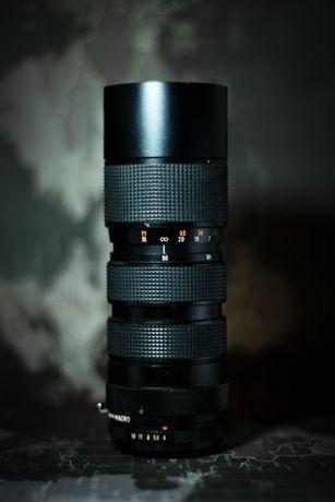 Obiektyw M42 SUNAGOR 90-210 f/4 japoński analogowy