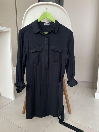 Платье рубашка calvin klein xs-s zara hm mango