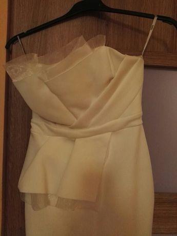 Sukienka biała rozmiar S