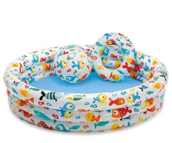 Intex Бассейн детский интекс 59469 На рыбалке с кругом
