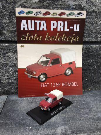 Kolekcjonerski FIAT 126P BOMBEL-auta PRL,model,autka,resoraki,kolekcja