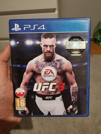 UFC 3 PS4 PL stan jak nowa