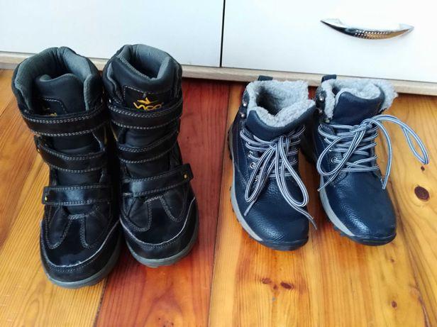 Buty zimowe dla chlopca roz 34
