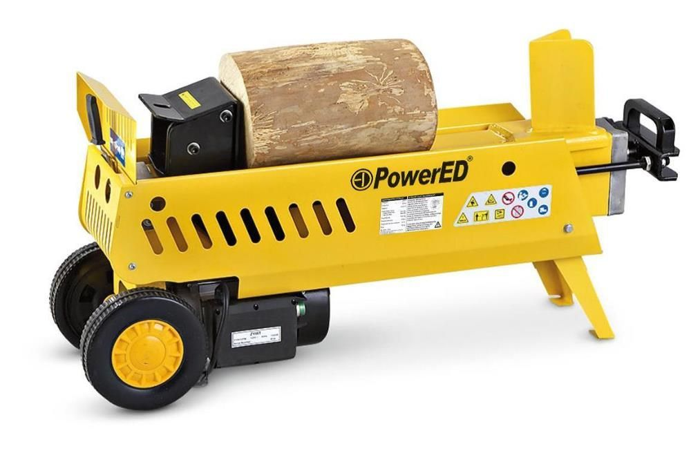 Rachador de Lenha eléctrico 7 Ton horizontal racha tronco c/ 52 cm
