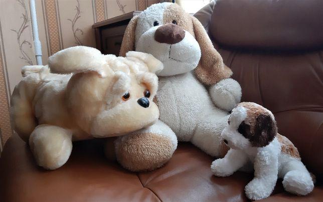 Мягкие игрушки-собаки