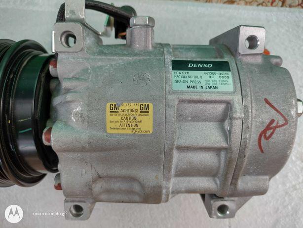 Компрессор кондиционера DENSO 447200-9070, GM 90 457 635 Opel. Новый.