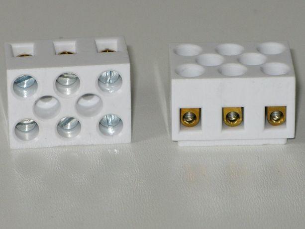 kostka elektryczna ceramiczna 3pin 32A 500V