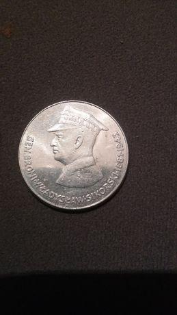 50 zł Gen. Sikorski moneta kolekcjonerska z PRL