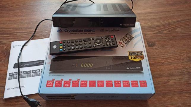 Tuner satelitarny AB CrypyoBox 600HD