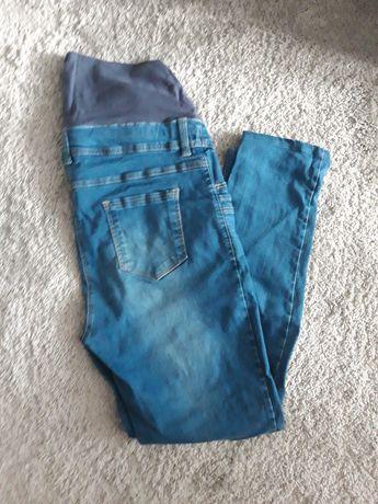 Jeansy ciążowe, spodnie r. XL