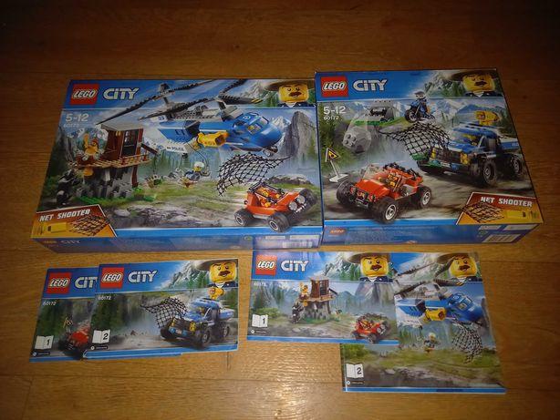 Lego City - zestawy Policja Górska i Bagienna