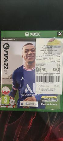 FIFA 22 wersja na Xbox series X . Kupioną 20.11.2021