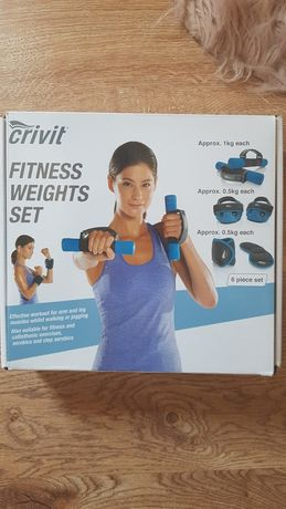 Set fitness ciężarki