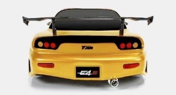 Автомодель для дрифта Team Magic E4D Mazda RX-7, масштаб 1к10 золотой