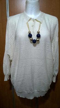 Sweterek ażurkowy, kimono, 52-56