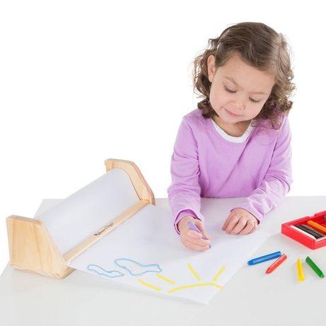 Uchwyt na papier do rysowania Melissa & Doug z rolką papieru-nowy